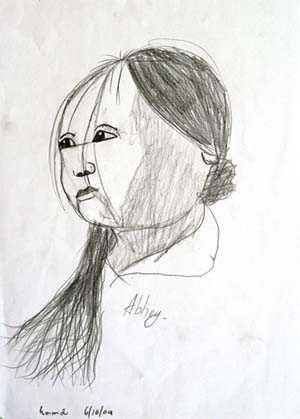 """""""My Sister"""" by Abbey Luong - 6 yrs old"""
